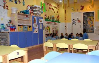 Guardería en Alcalá de Henares aulas