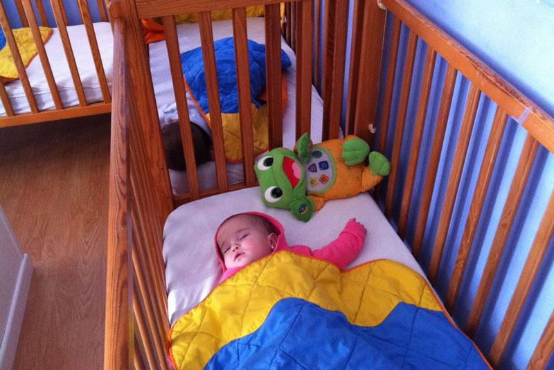 dormir la siesta es importante para los bebés