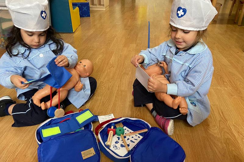 Qué aprenden los peques en una escuela infantil